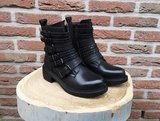 RUBY BELTED BOOTS BLACK_