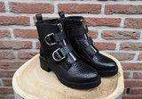 DAISY SNAKE BOOTS BLACK_