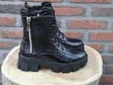 DANA CROC BOOTS BLACK_