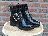 JADE BELTED BOOTS BLACK_