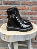 JULIA PEARL BOOTS BLACK_