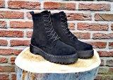 SANDY SUEDE BOOTS BLACK_