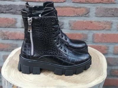 DANA CROC BOOTS BLACK