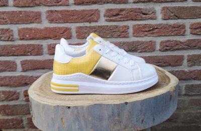 EMMY SNEAKER WHITE/yellow